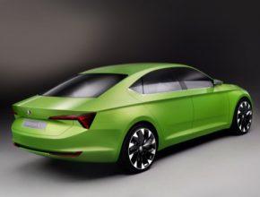 auto studie koncept Škoda VisionC design