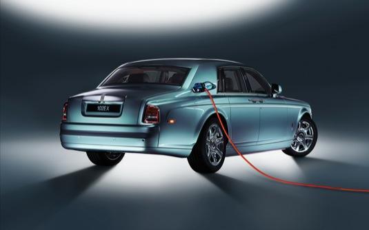 auto elektromobil Rolls-Royce 102EX koncept