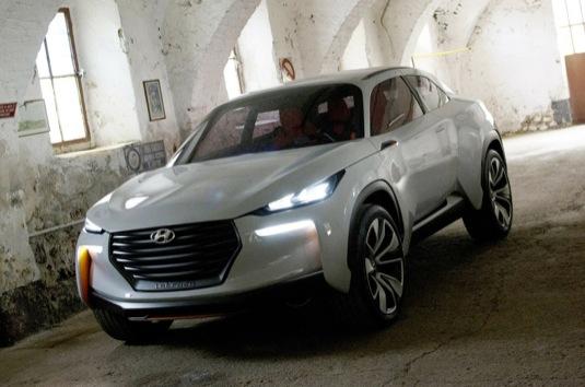 auto Hyundai Intrado auto na vodík