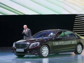 auto Mercedes-Benz S500 PHEV plug-in hybrid intelligent drive