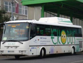 auto autobusy na CNG stlačený na zemní plyn Česká republika
