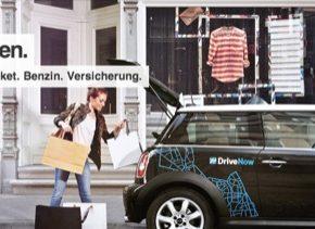 auto DriveNow car sharing sdílení aut BMW Mini