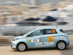 auto elektromobily závody ZENN Rallye Monte Carlo Renault Zoe