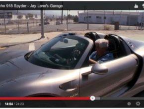 auto Jay Leno Garage Porsche 918 plug-in hybrid