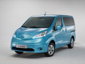 auto Nissan e-NV200 elektromobil elektrická dodávka