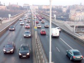 auto Praha Nuselský most nízkoemisní zóny doprava