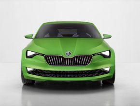 auto Škoda VisionC koncept autosalon Ženeva 2014