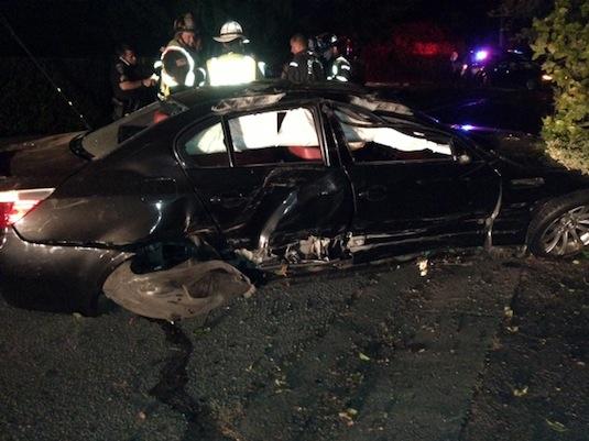 auto Vernon Huang BMW M5 nehoda