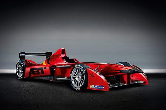 Elektrická formule od Audi Sport ABT