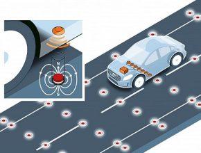 Autonomní budoucnost: Volvo testuje magnetické silnice