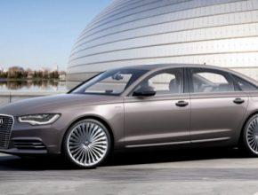 auto Audi A6 e-tron L plug-in hybrid koncept 2012