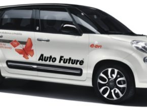 auto Fiat 500L auto na plyn stlačený zemní plyn CNG