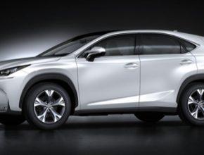 auto Lexus NX hybrid SUV