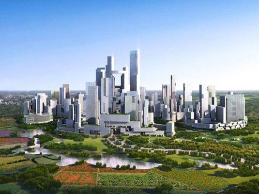 auto Čína nové město velké město