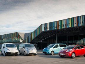auto elektromobily elektrické dodávky Nissan e-NV200 Nissan Leaf elektroauto