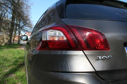 auto nový Peugeot 308 1.6 HDi diesel test