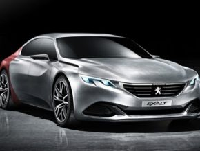 auto Peugeot Exalt hybrid koncept autosalon Peking 2014