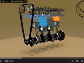 jak funguje spalovací motor