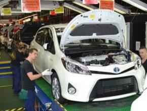auto Toyota Yaris Hybrid výroba ve Francii