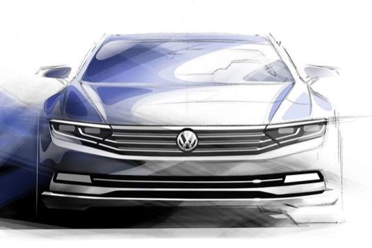 Volkswagen Passat plug-in hybrid koncepční studie