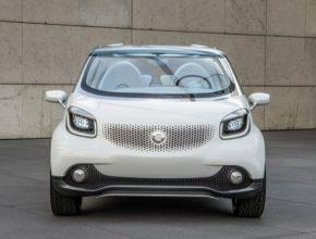 auto koncept Smart fortwo a forfour