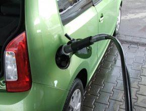 auto auto na plyn Škoda Citigo CNG test