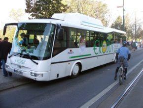 auto autobus na zemní plyn (CNG)