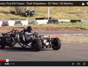 auto EV West elektrický roadster