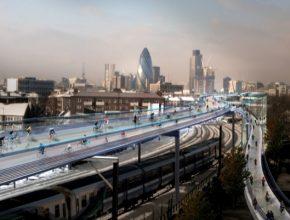 Budoucnost dopravy v Londýně ve snech architektů.