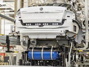 auto na plyn Škoda Octavia G-TEC zemní plyn CNG