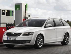 auto na plyn Škoda Octavia G-TEC s pohonem na CNG (stlačený zemní plyn)