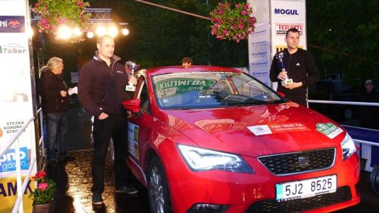 Seat Leon TGI s pohonem na CNG v New Energies Rally