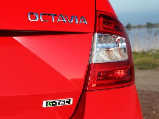 auto Škoda Octavia G-TEC na plyn CNG stlačený zemní plyn