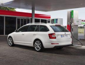 auto Škoda Octavia G-TEC CNG auto na stlačený zemní plyn
