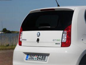 auto Škoda Citigo G-TEC na stlačený zemní plyn CNG