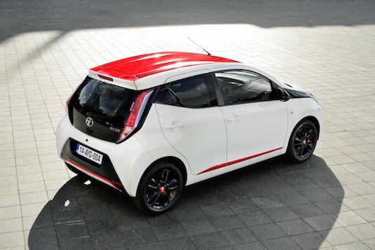 auto nová Toyota Aygo