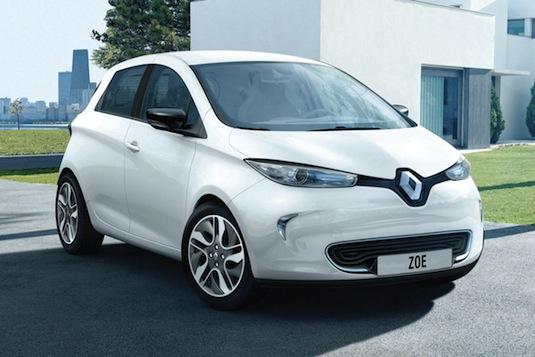 auto Renault Zoe elektromobil Francie