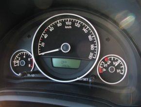 auto Škoda Citigo CNG palubní deska
