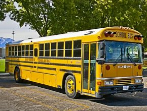 Americký školní autobus Blue Bird All Americans