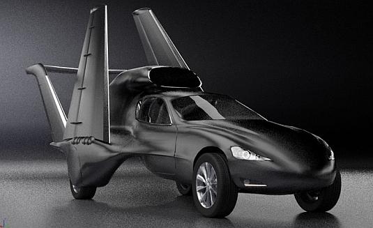 Létající elektromobil GF7