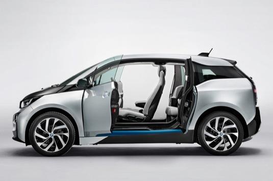 auto 2014 BMW i3 elektromobil elektrické auto