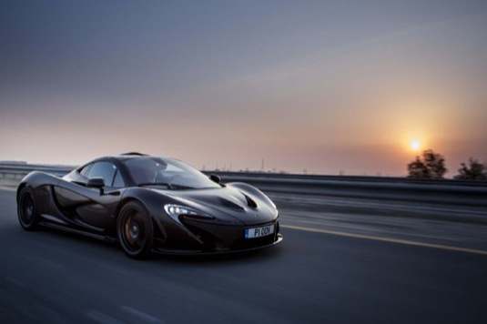 auto McLaren P1 supersport plug-in hybrid auto