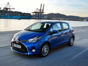 auto nová Toyota Yaris 2014