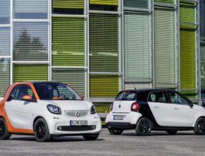 auto 2016 Smart ForTwo Smart ForFour nová auta