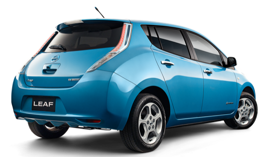 auto elektromobil Nissan Leaf elektrické auto