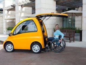 Kenguru - elektrické vozítko pro vozíčkáře. Zajímal se o něj osobně dokonce i americký prezident Barack Obama.