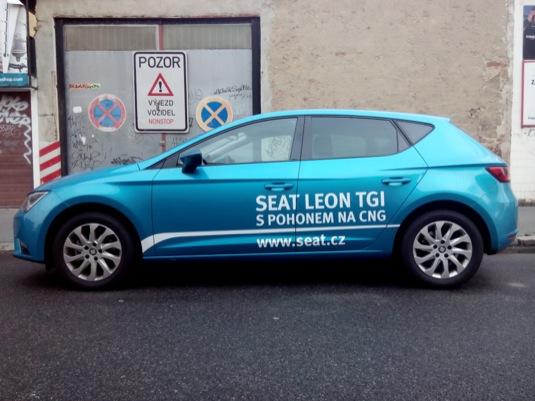 auto na plyn test Seat Leon TGI