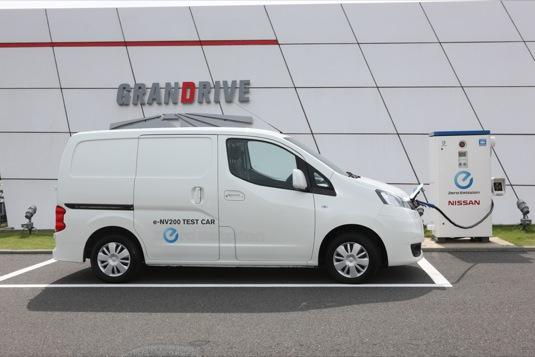 auto elektrická dodávka Nissan e-NV200