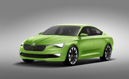 auto Škoda Vision C koncept