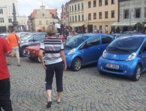 auto sraz elektromobilů Sedlec-Prčice